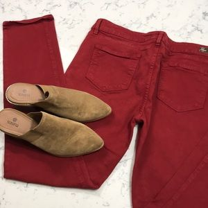 Red Paige Jeans     Just In time for the 4th!